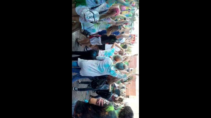 фестиваль красок Тосно 18 .08.2018 г