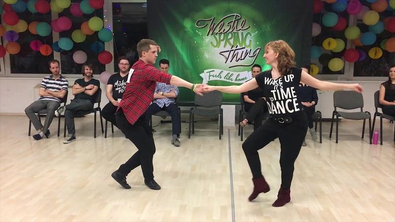 Tom-elbin Bendheim Anna Balasy - 2nd place Advanced JJ - Westie Spring Thing 2019