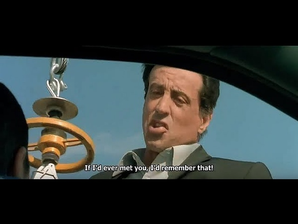 Taxi 3 Scene With Sylvester Stallone