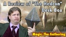 MTG - A Review of the Hedron Deck Box for Magic: The Gathering