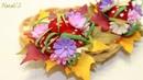 Осенние резиночки для волос/Цветы из фоамирана/NataliS