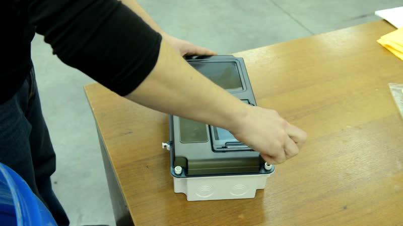 Водонепроницаемость корпусов для установки счётчиков ЩУРН-п IP55 производства IEK GROUP