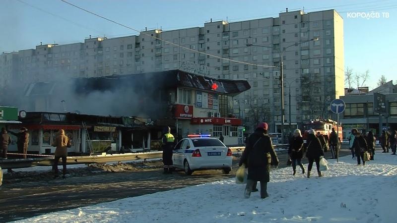 Пожар в торговых рядах у станции Болшево: удалось ли спасателям локализовать возгорание?