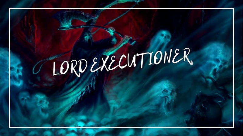 Как я красил \ How to paint Nighthaunt Lord Executioner
