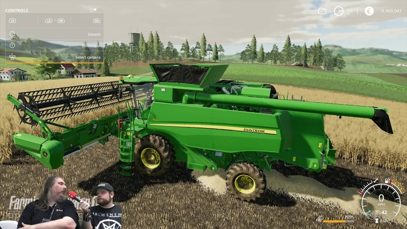 Farming Simulator 19 HD GAMEPLAY 1080/60FPS PREVIEW VERSION FROM GAMESCON