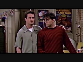 Chandler Bing × Joey Tribbiani