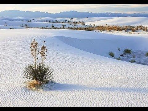 Пустыня белых песков в Нью мексико