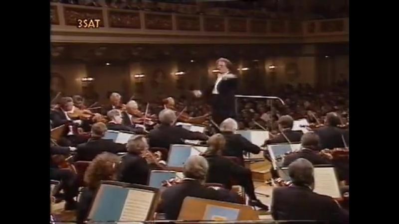 Джеймс Ливайн. Начало Дон Жуана Рихарада Штрауса. Оркестр Берлинской филармонии