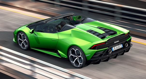 Второй пошел: представлен Lamborghini Huracan Evo Spyder