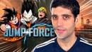 NARUTO vs GOKU joguei JUMP FORCE o que eu achei decepcionou