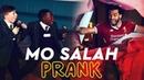 Mo Salah bursts through wall to surprise kids | KOP KIDS PRANK