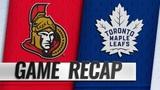 Tavares, Leafs beat Senators at Hockeyville Canada