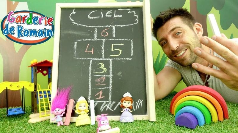 Vidéo en français pour enfants de la Garderie de Romain № 37: jeux éducatifs