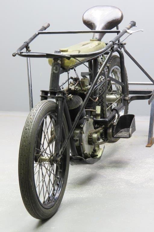 Ретро мотоцикл Mag Cycle Pacer 1924