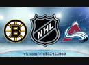 Boston Bruins vs Colorado Avalanche | 14.11.2018 | NHL Regular Season 2018-2019