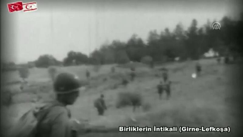 TSK Kıbrıs Harekatını video ile andı