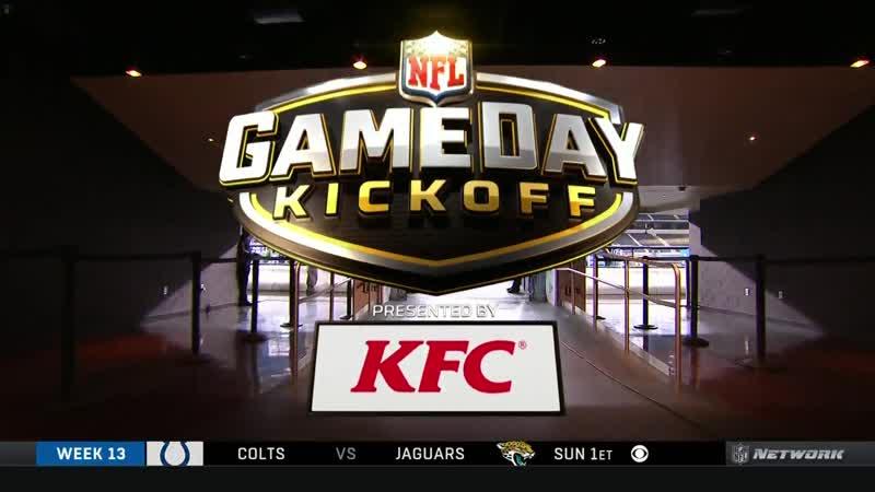 NFL Gameday Kickoff (NFL Network, 29.11.18)