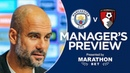 Pep Guardiola previews Man Cityv Bournemouth | Press Conference