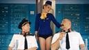 Разорвали девушке юбку Злые пассажиры оставили девушку без трусов Реалити шоу авиация пошив