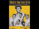 The Ink Spots &amp Ella Fitzgerald - That's The Way It Is