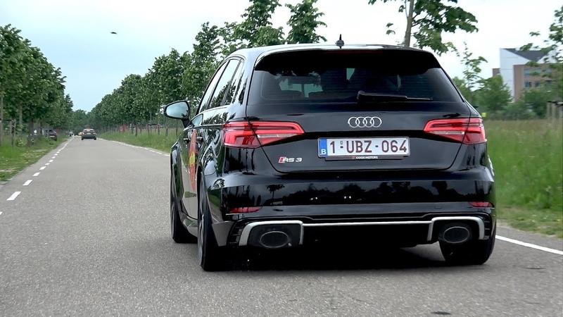 400HP Audi RS3 Sportback (2018) - REVS Acceleration SOUNDS!