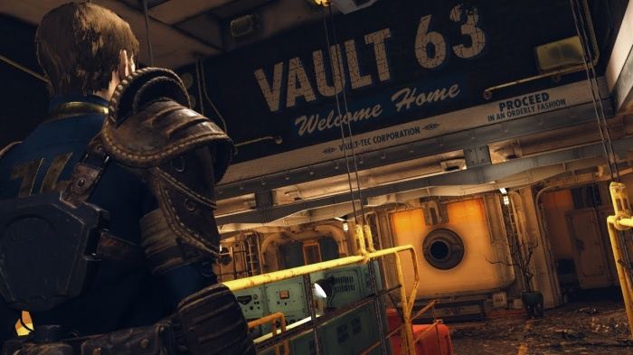 Игроки случайно попали в закрытое Убежище в Fallout76