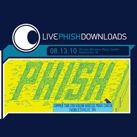 Phish альбом Live Phish: 8/13/10 Verizon Wireless Music Center, Noblesville, IN