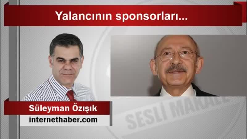 Süleyman ÖZIŞIK Yalancının sponsorları