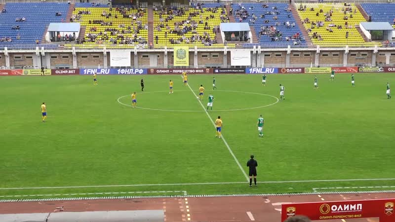 Луч (Владивосток) - Томь (Томск). ФНЛ - первый дивизион. 3 тур. 20.07.2019