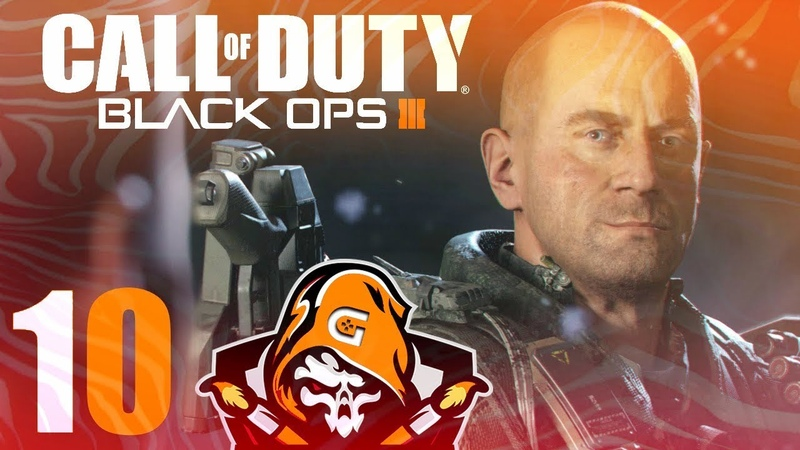 Call of Duty Black Ops 3 🔪 10. Лотосовые башни {PS4}