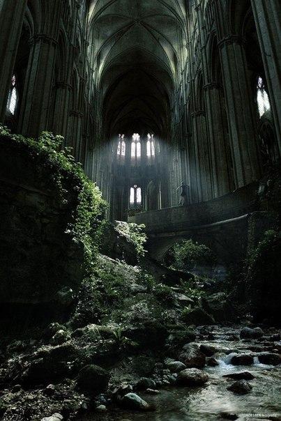 заброшенная церковь святого этьена, франция. france.
