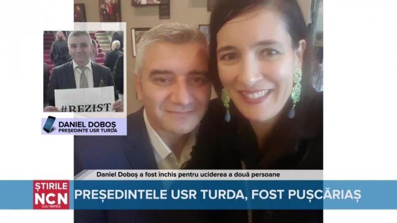 Liderul USR Turda, Daniel Doboș, a recunoscut că a ucis două persoane și că a executat mai mulți ani de închisoare _n