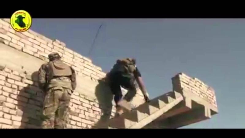 IRAQ - the commander ABU AZRAEL fight against ISIS Terrorists