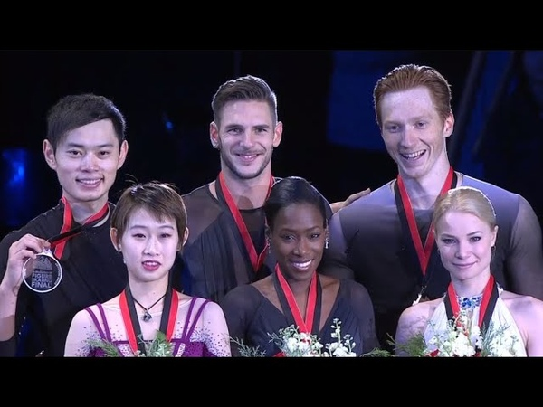 Grand Prix Final Pair Victory Ceremony
