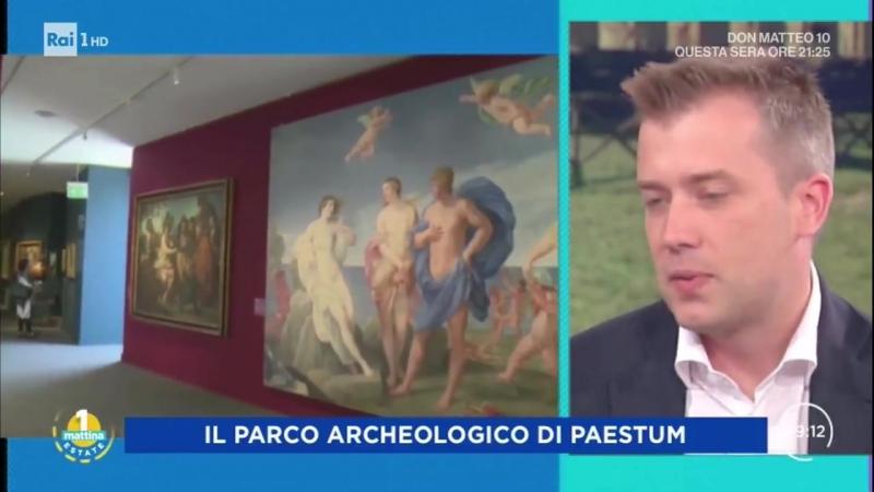 Интервью с директором Археологического парка в Пестуме