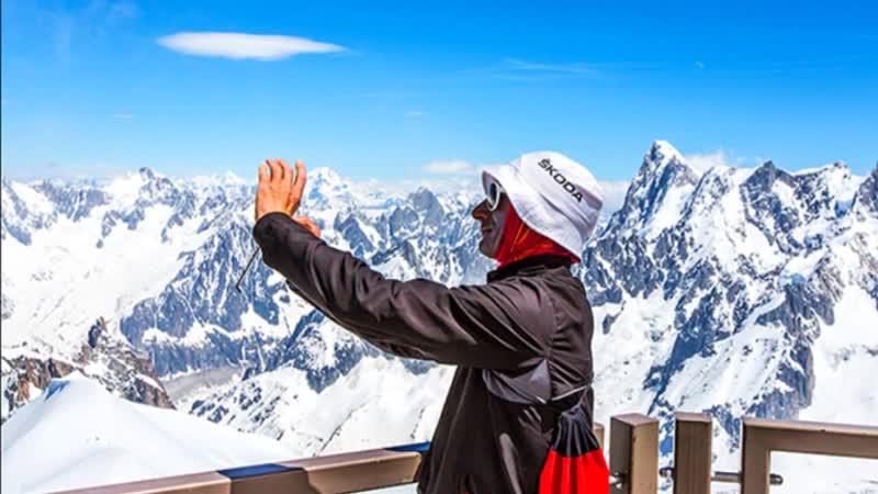 В горах на высоте 3842 метра