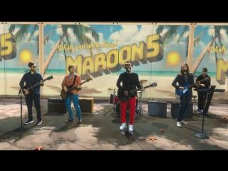 Премьера. Maroon 5 - Three Little Birds