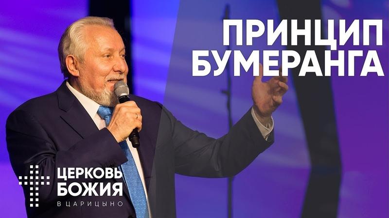 Принцип бумеранга   Сергей Ряховский   cogmos