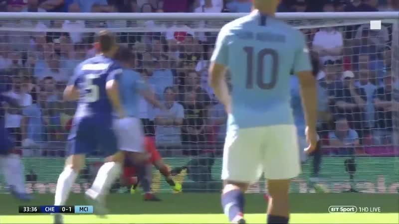 Челси - Манчестер Сити 0:2 | 05.08.2018