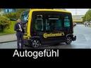 Mobility of the future Continental Autonomous Vehicle CUbE test self parking FEATURE Autogefühl