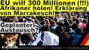 EU will 300 Millionen Afrikaner holen Marrakesch Erklärung Erweiterter Kommentar * HD