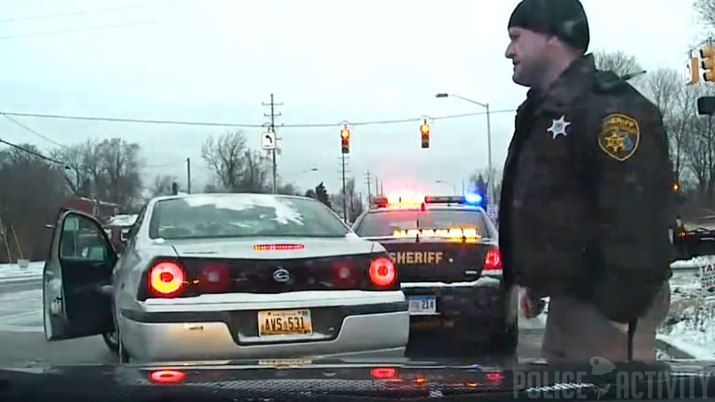 Oakland County Deputy Hit By Car Sliding On Icy Road