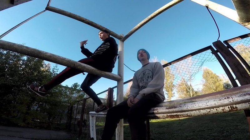 Backtage со съемок клипа Дети пустоты. Gufi ml. feat. SkeeForcE