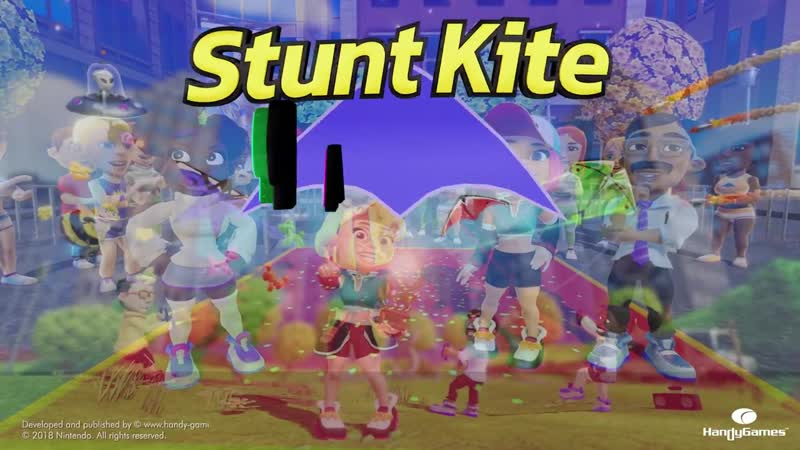Геймплейный трейлер игры Stunt Kite Party для Nintendo Switch!