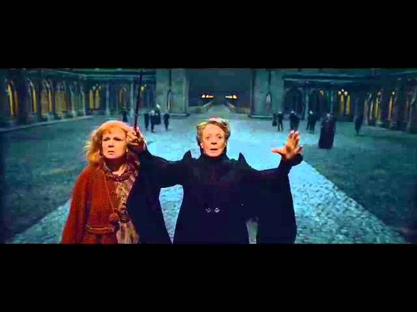 Exclusive: Deathly Hallows Part 2 - 'Awakening Statues' Clip