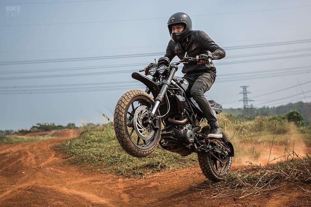 Thrive Motorcycle: кастом KTM 250 Duke