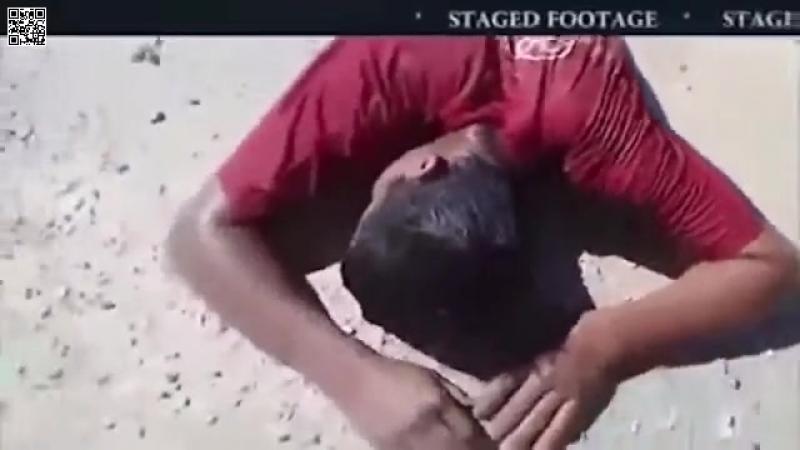 Des preuves indubitables de simulation d'attaque chimique false-flag par les rebelles syriens