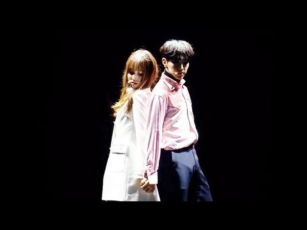 여자친구 유주 GFRIENDs Yuju Solo Dance Special Stage on MAMA 2016 (SEVENTEENs Hoshi)