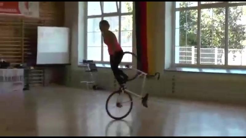 Вело-эквилибрист