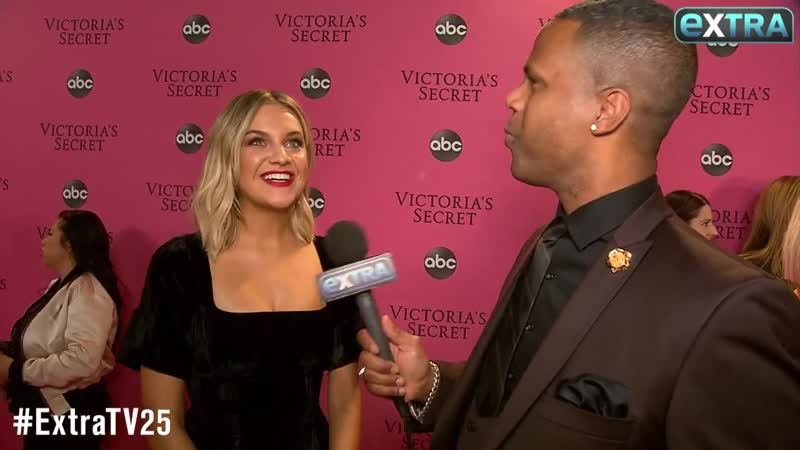 Kelsea Ballerini Talks Nerves Before Victoria's Secret Fashion Show Performance